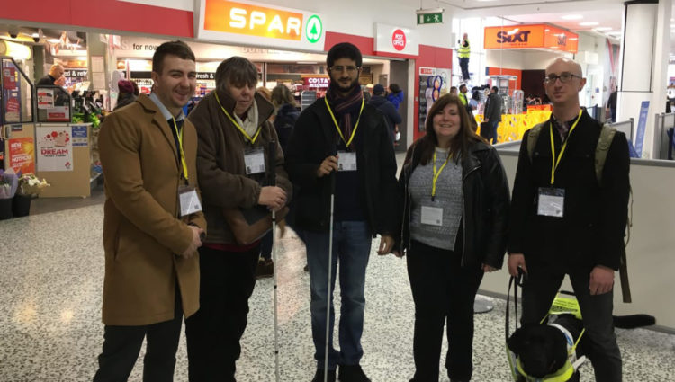 Image depicting members of the Sigh Loss Councils in Birmingham Airport