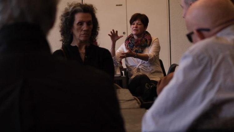 Image showing people conversing in meeting regarding Mayoral Manifesto