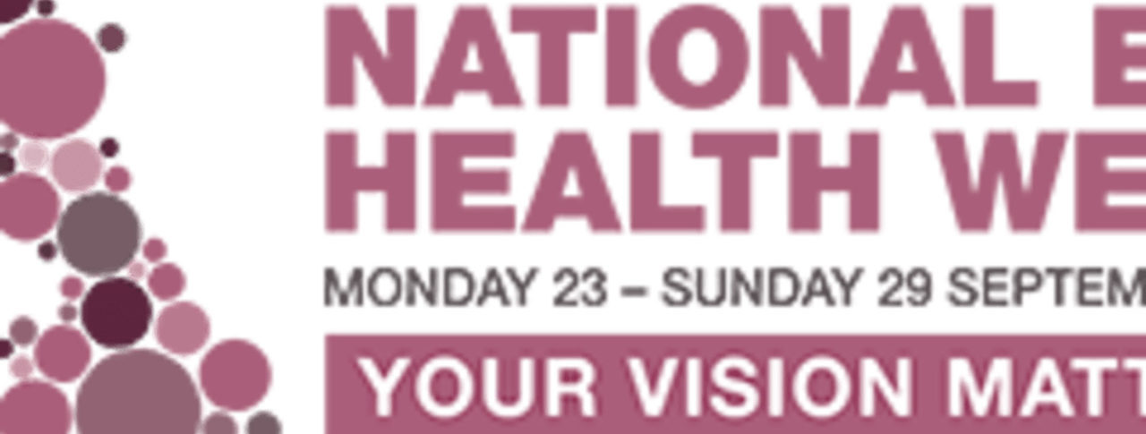 National Eye Health Week 2019
