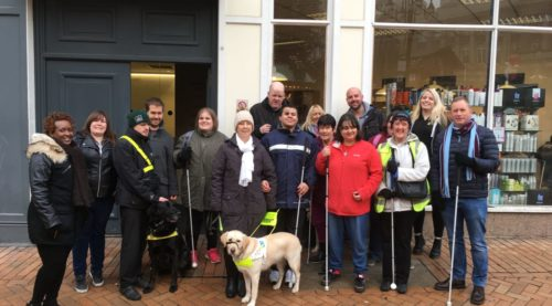 Image showing staff and members of the Sight Loss Councils