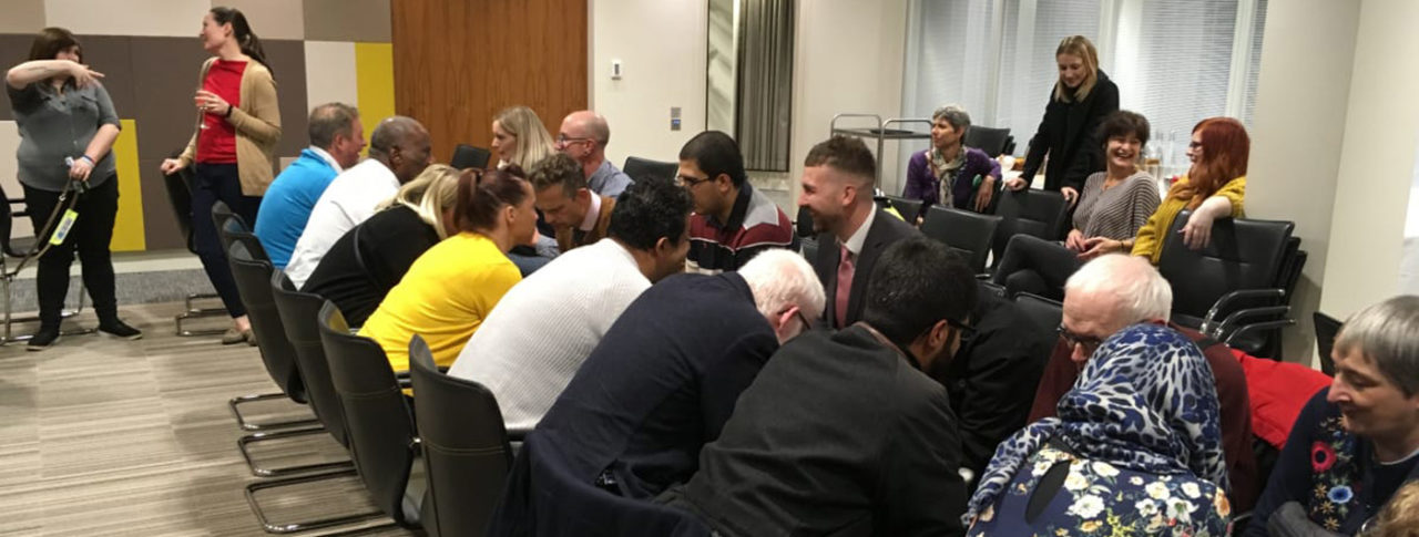 Image showing peiople attending the first West Midlands Working Age Forum